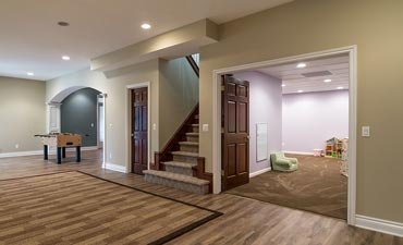What Are The Steps To Finishing A Basement Oakland County Mi